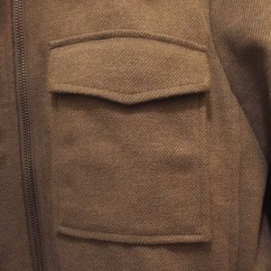 Current Air Jackets & Coats - OLIVE MILITARY INSPIRED FAUX FUR COAT
